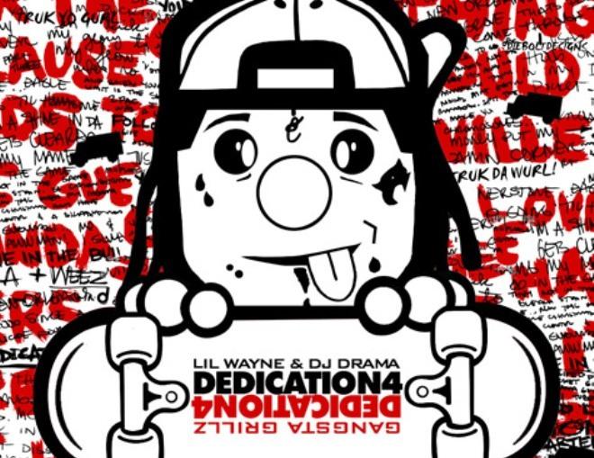 lil wayne dedication 4 cover art