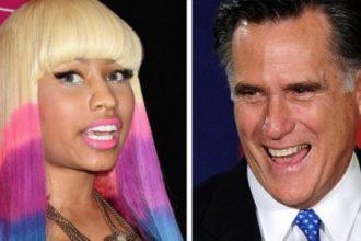 Nicki Minaj Endorse Mitt Romney In New Song, Fans Angry [Audio]