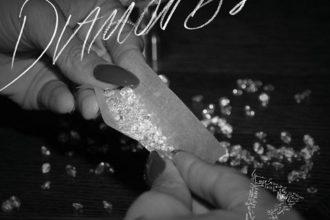 """Rihanna Reveals """"Diamonds"""" Single Cover"""