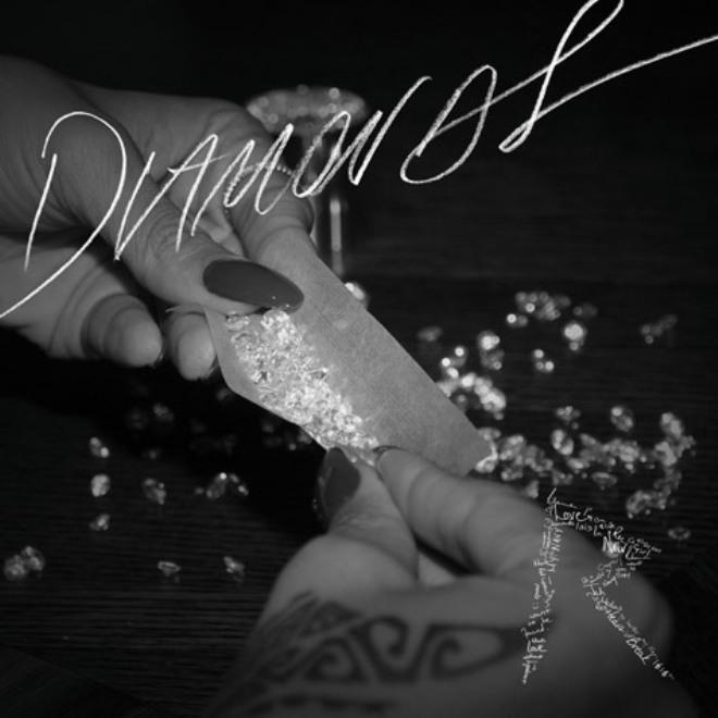 rihanna diamons artwork cover