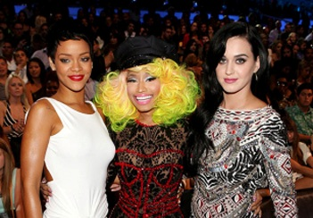 The 2012 MTV Video Music Awards Behind The Scenes [Photo]