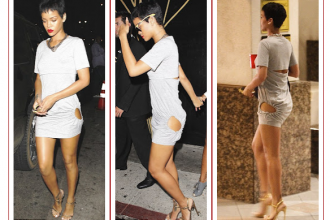 Rihanna Shows A Lot Of Skin While Going Clubbing [Photo]