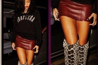 PETA Lashes Out At Rihanna Over Snake Skin Boots [Photo]