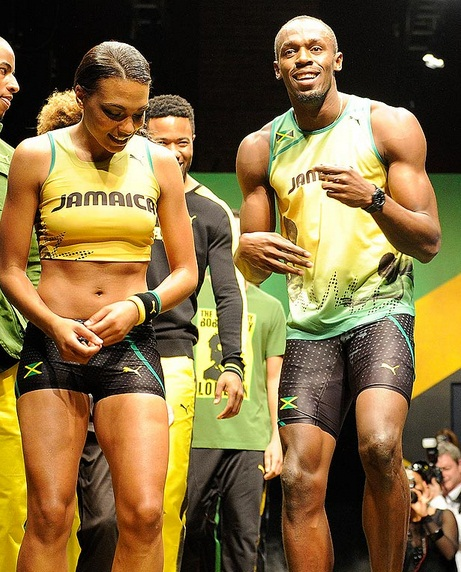 usain bolt new girlfriend megan