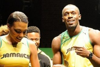 Usain Bolt Has A New British Girlfriend And She Is Cute [Photo]