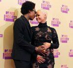 wiz and amber rose pregnant