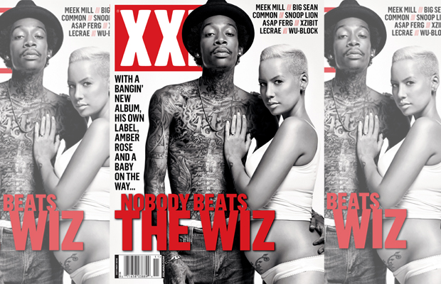wiz khalifa and amber rose xxl magazine cover