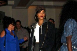Rihanna And Chris Brown Mom Hit The Studio Together [Photo]