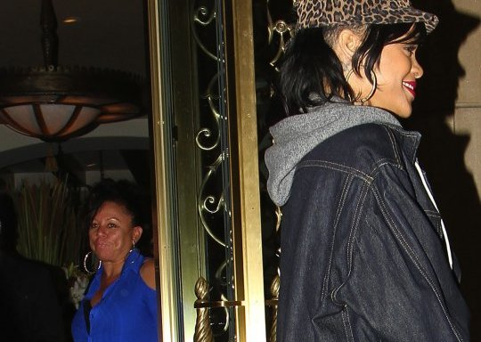Rihanna and joyce hawkins
