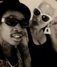 amber rose and wiz pic
