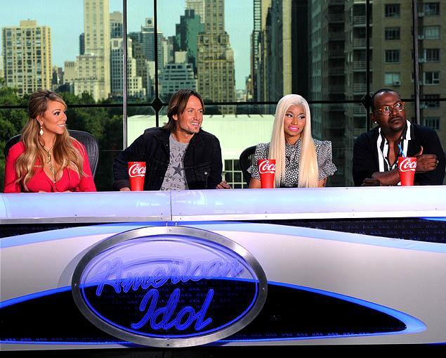 american idol judge minaj urban carey jackson