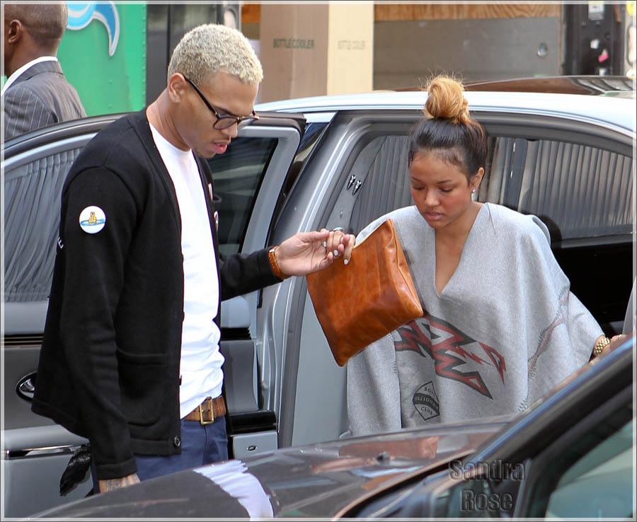 Chris Brown in New York.