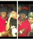 chris brown and rihanna club partying