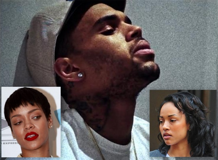 chris brown rihanna karruche pic 2013