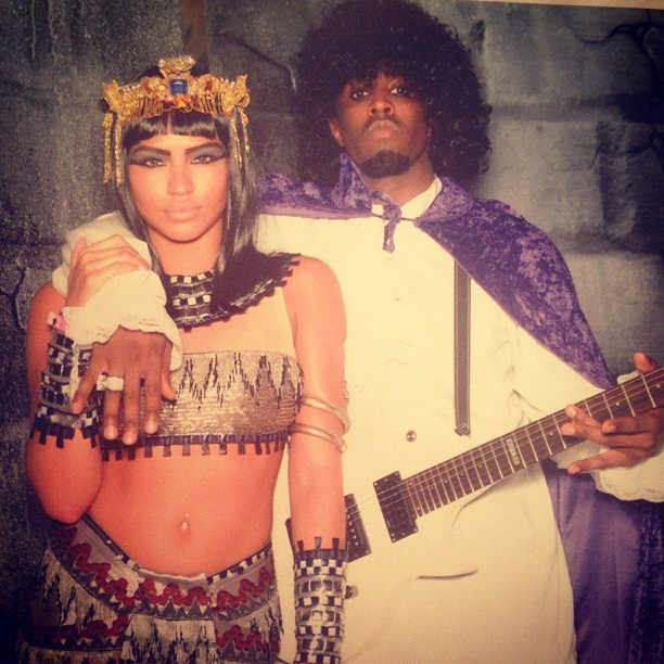 diddy and cassie halloween
