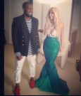 kanye and kim mermaid halloween