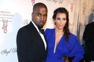 Kanye West, Kim Kardashian, Estelle, Nelly, Ashanti On Red Carpet Angel Ball [Photo]