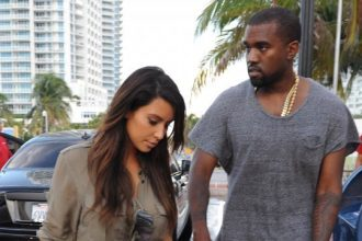 Kanye West and Kim Kardashian Goes House Hunting In Miami [Photo]