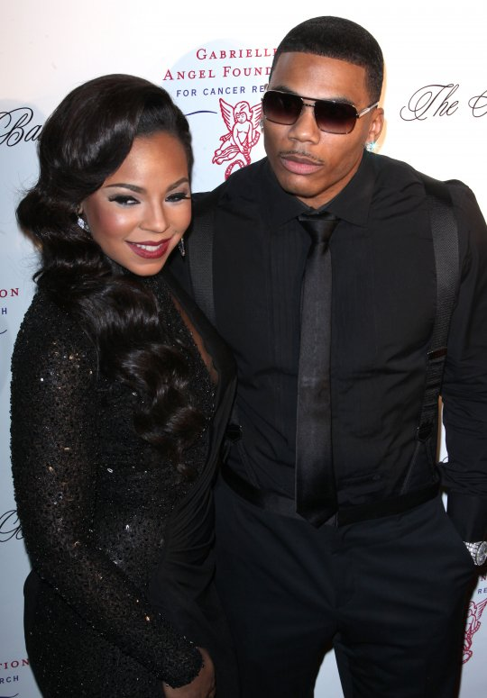 Ashanti enjoys a chocolate-covered strawberry after taping ...  |Ashanti Dating