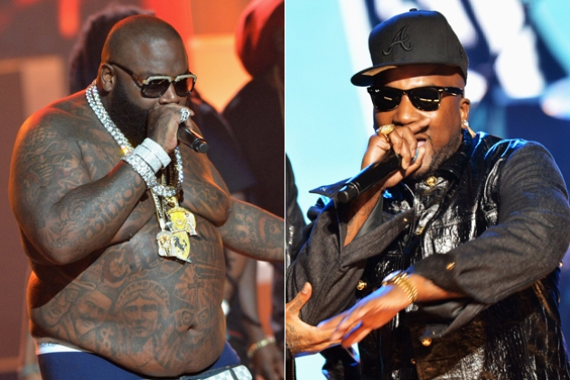 rick ross and young jeezy beef brawl