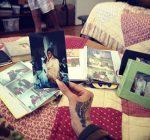 rihanna gran dolly old photo