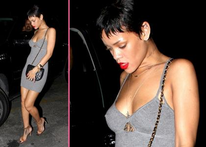 rihanna late night studio