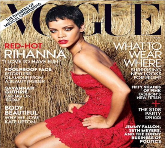 rihanna vogue cover 2012