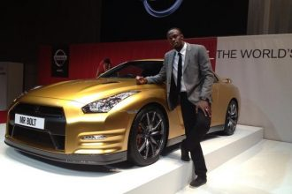 Usain Bolt Is Nissan's Director Of Excitement, Showcase Special Edition GT-R