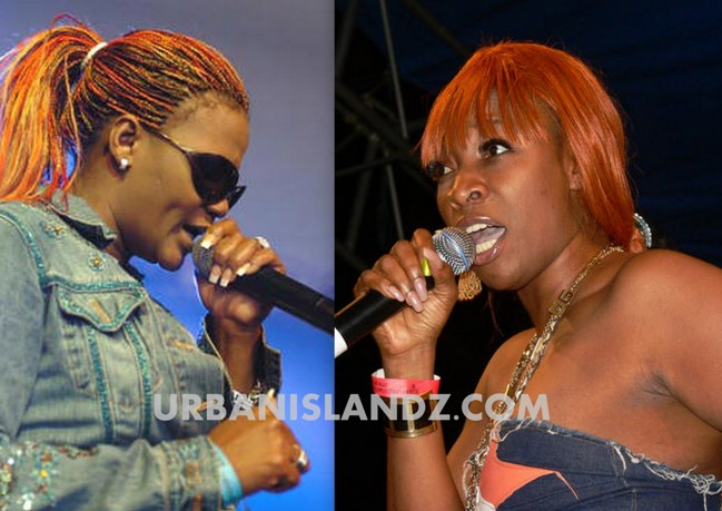 Lady Saw and Macka Diamond