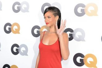 """Rihanna Only Girl In The World At GQ """"Man Of The Year"""" Award [Photo]"""