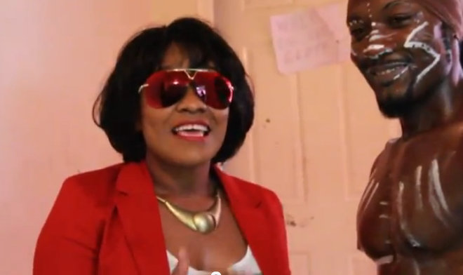 Tanya Stephens fire burning video