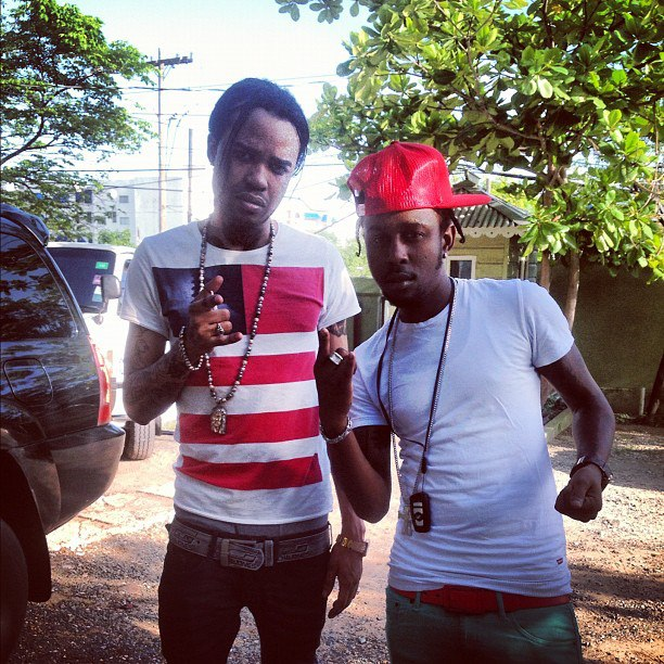 Tommy Lee and Popcaan