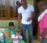 asafa powell family and baby