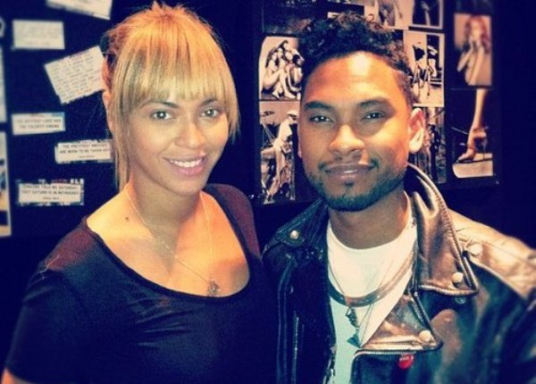 beyonce and miguel studio