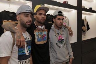 Chris Brown Ink Deal With Wilhelmina Models, Launch Black Pyramid Clothing Line