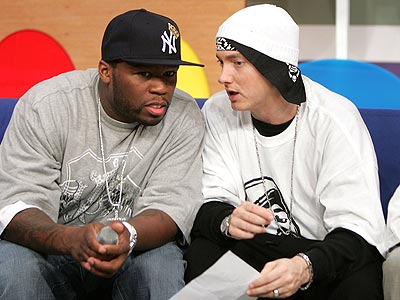 eminem and 50 cent pic