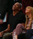 jay-z and beyonce courtside brooklyn nets game 1