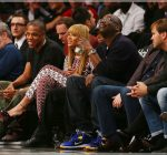 jay-z and beyonce courtside brooklyn nets game 2012