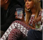 beyonce courtside nets game