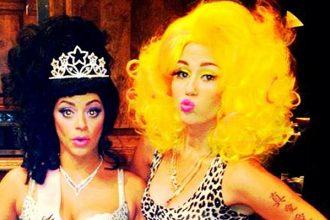 Miley Cyrus Channels Her Inner Nicki Minaj For Halloween [Photo]