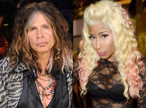 nicki minaj and steven tyler pic