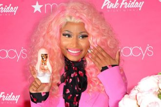 Nicki Minaj Launched Pink Friday Fragrance In Queens New York [Photo]
