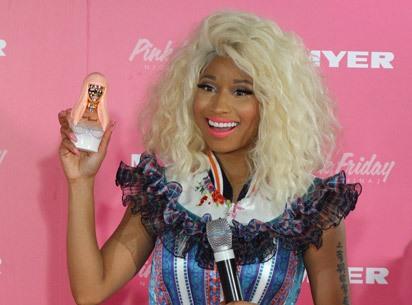 nicki minaj pink friday fragrance