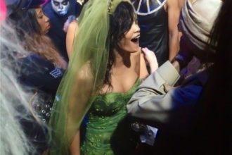 Rihanna Was Chris Brown Bride For Halloween [Photo]