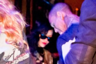 Rihanna And Chris Brown Parties Together In Berlin [Photo]