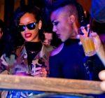 rihanna at club