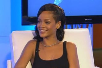 """Rihanna On Relationship With Chris Brown """"No. Not together"""" [Video]"""