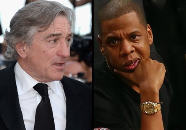 robert de niro and jay-z