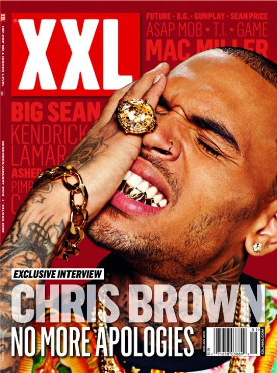 Chris Brown XXL Mag