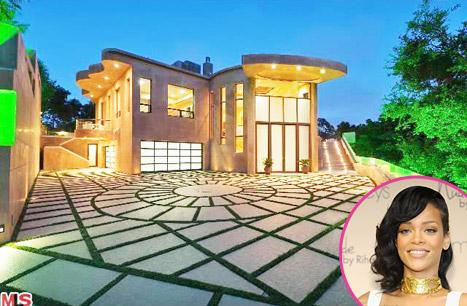 Rihanna 12 million mansion